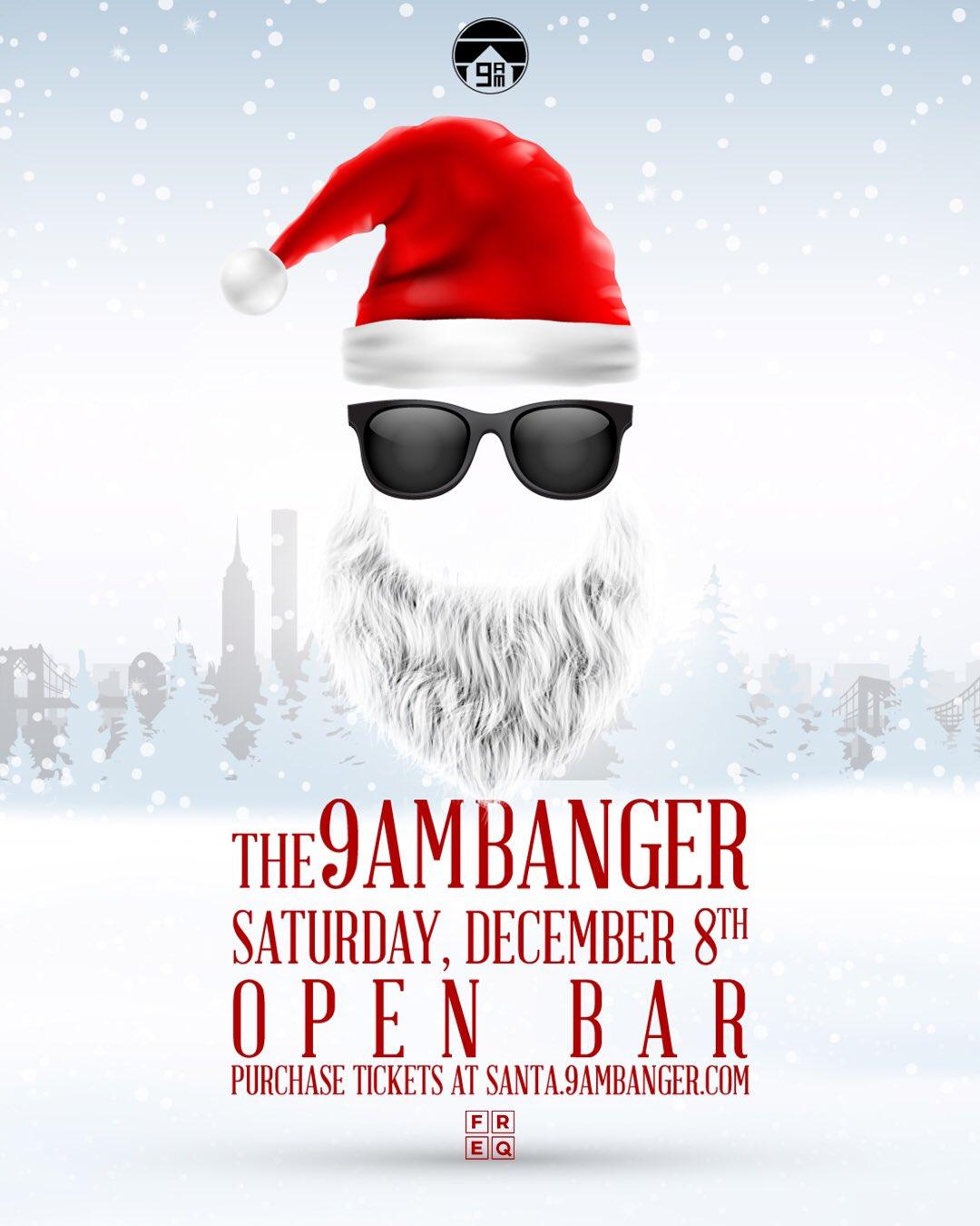 The 9AM Banger | SantaCon