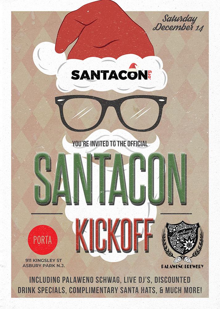 Asbury Park SantaCon Kickoff Party