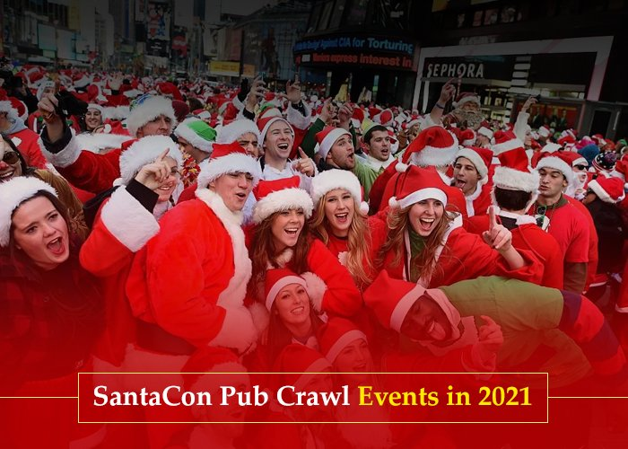 The SantaCon Pub Crawl Events in 2021: Check Out Here All